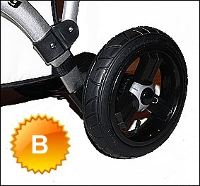 B Air wheels