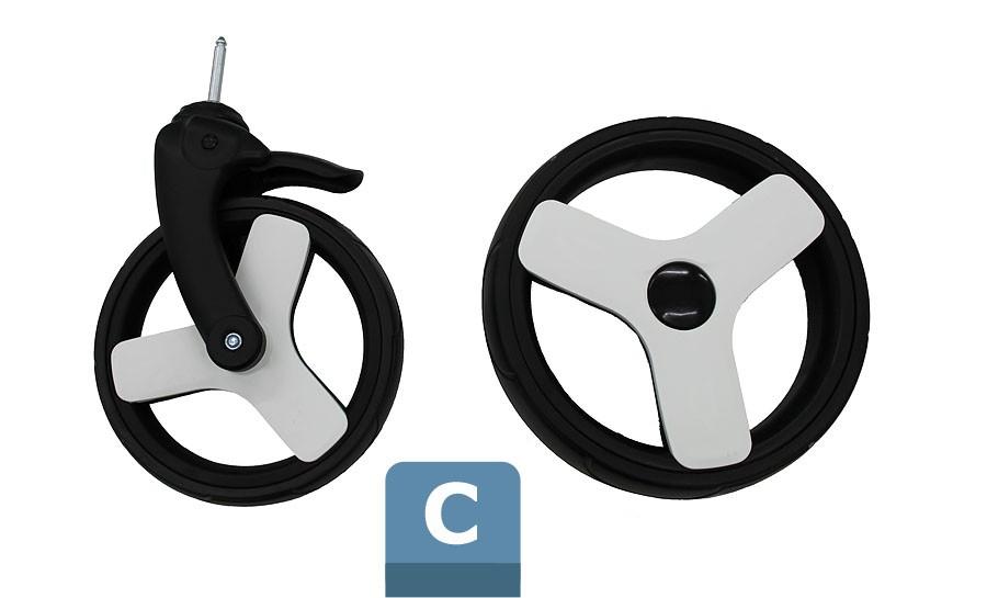 C - Foam wheels