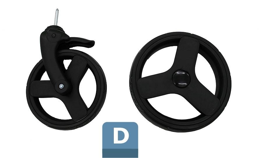 D - Foam wheels