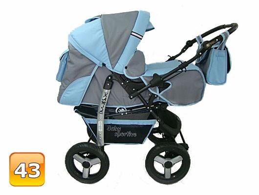 Pram Stroller Babycar Kamil